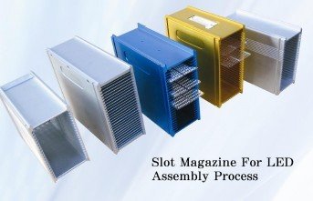 Slot Magazine For LED Assembly Process